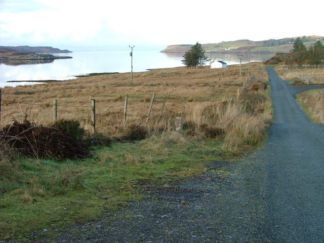 Road to Aird Point