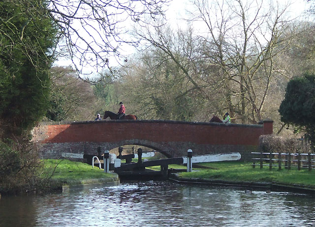 Gothersley Bridge and Lock, Staffordshire and Worcestershire Canal