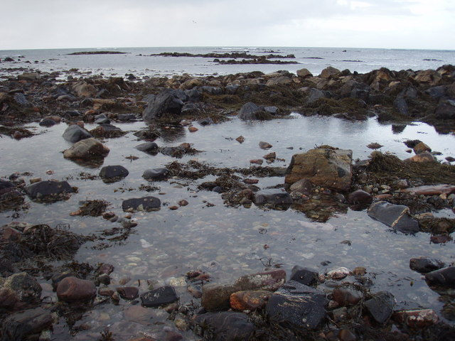 Skerries of Borgh beach