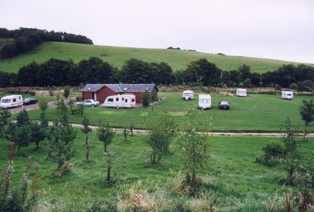 Lauder Camping & Caravanning Club site