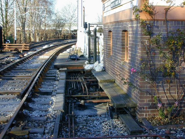 Signalbox workings, Didcot Railway Centre