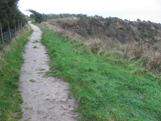 The Cleveland Way approaching Ravenscar