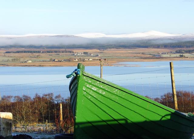 Near Sallachy, looking across Loch Shin