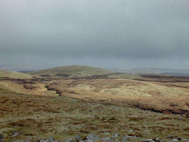 Moorland northeast of Llan Ddu Fawr (2)