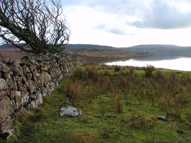 Drystane Wall at Greshornish