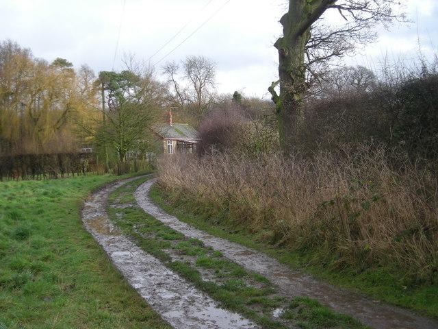 House beyond Alderley Lane Farm