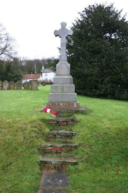 Bonby War Memorial