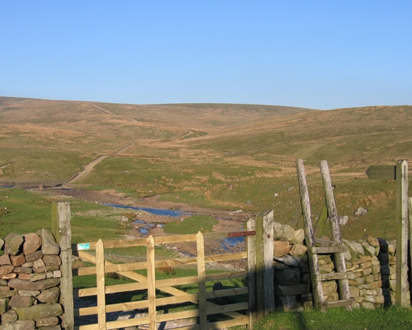 Gayle Beck and the Dales Way