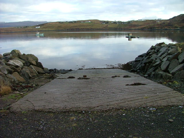 Slipway on Loch Greshornish