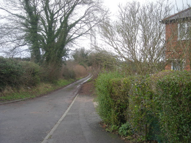 Down the lane to the Sewage Works