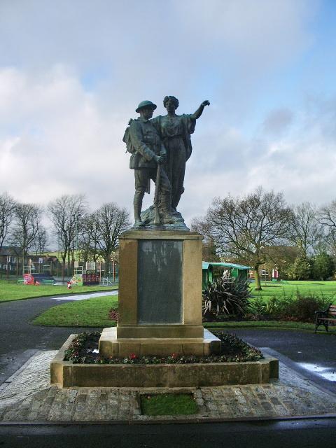War Memorial, Mercer Park, Clayton-le-Moors