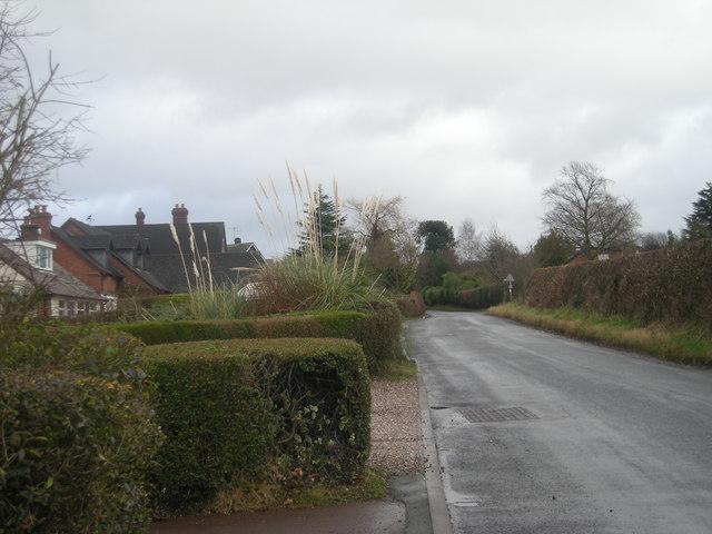 Road into Clive
