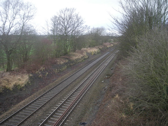 Railway line between Wem & Yorton