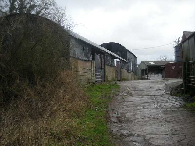 Farm buildings at Alderton