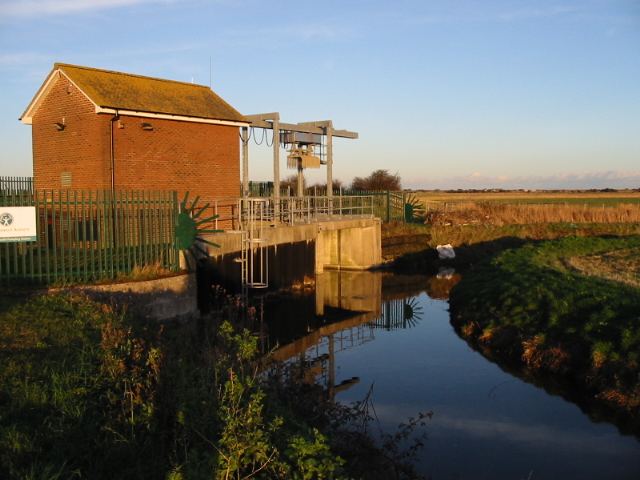 Pumping station in the Lydden Valley