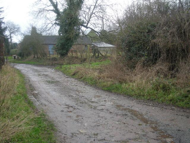 Track into Alderton