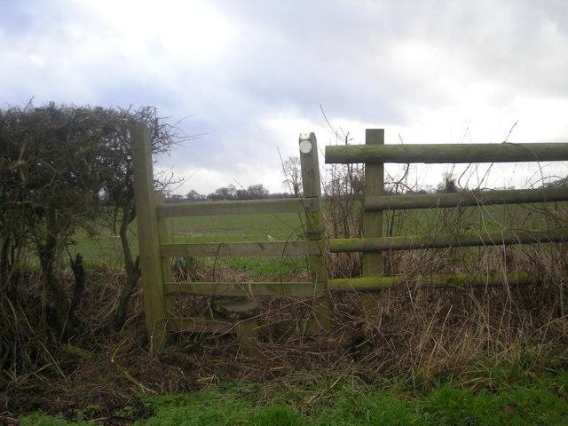 Stile near Houlston