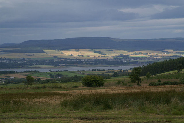 View from Culbo across Cromarty Firth