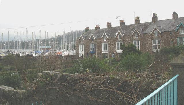Glandwr Terrace and Dickies Yard