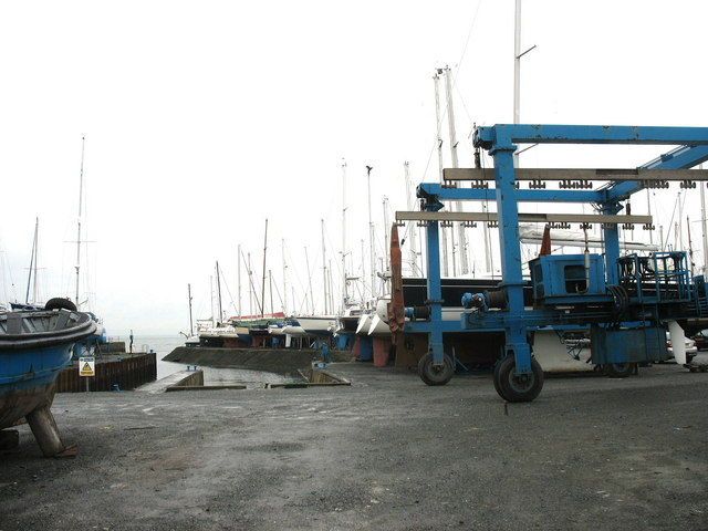 Launching jetty at Dickies Yard