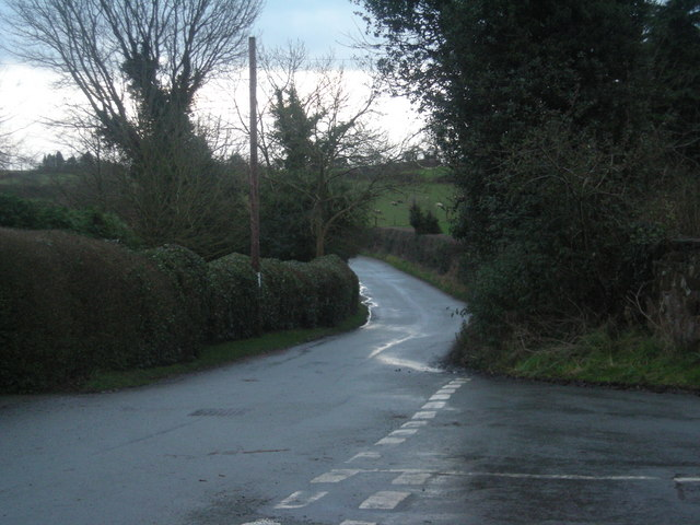 Junction at Stanwardine