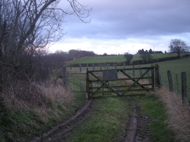 Gate giving access to the railway