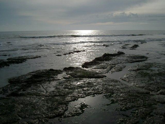 The seashore near to Holywell