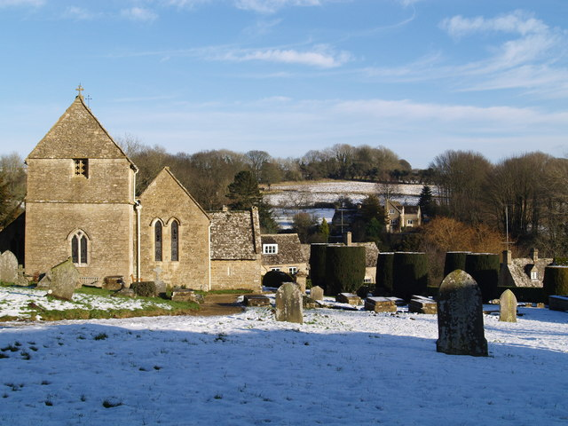 Duntisbourne Abbots Church