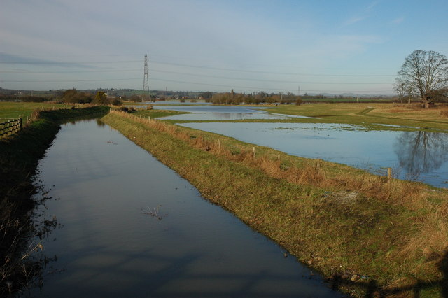 Stream near Longford