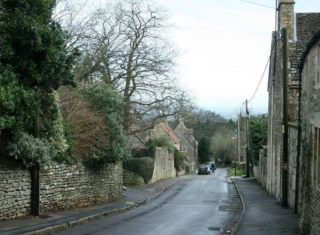 2008 : Monkton Farleigh, the Road to Wraxall (2)