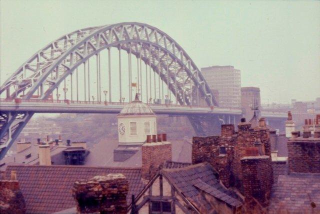 Tyne Bridge In The 1970s 169 N T Stobbs Cc By Sa 2 0
