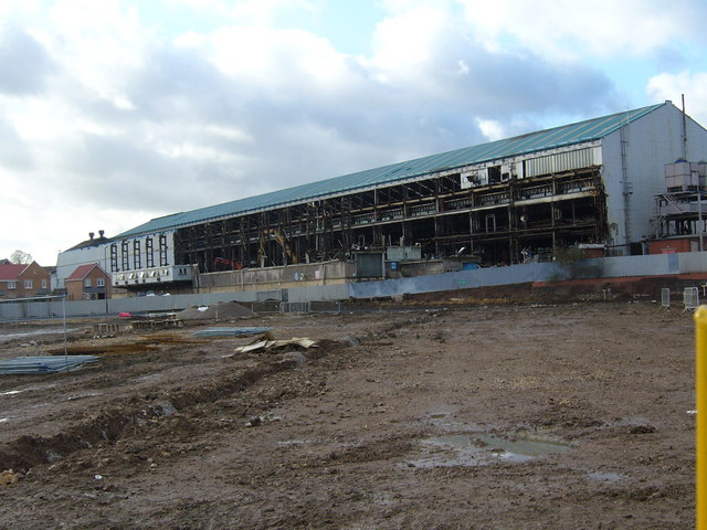 Demolition of Former Tube Works
