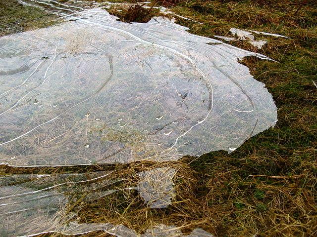 Melting ice, Trottingshaw