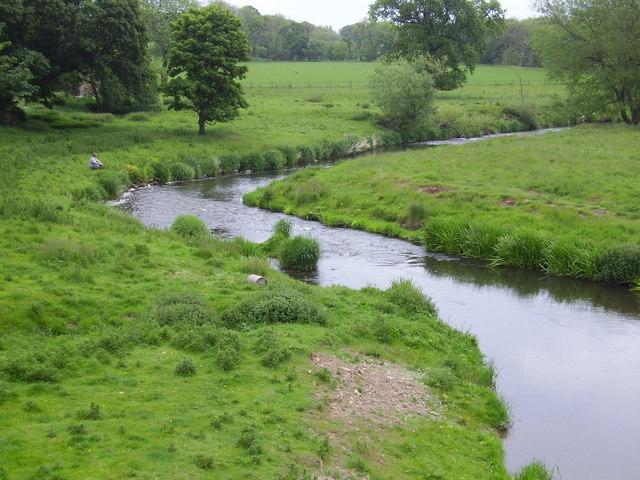 River Tyne near Abbey Mill, Haddington