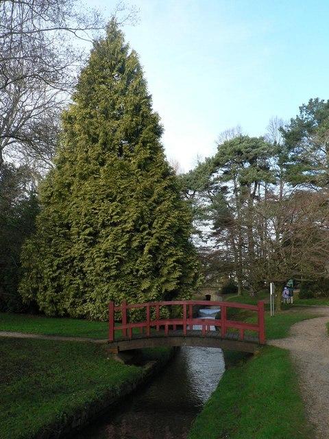 Bournemouth Gardens: first bridge in Bournemouth