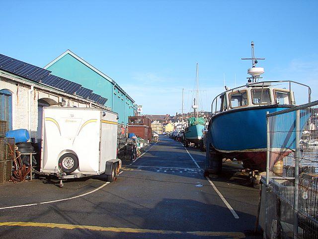 Aberystwyth Harbour Quay