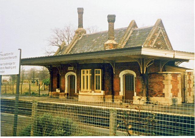 Culham Railway Station. (Mid-80's)