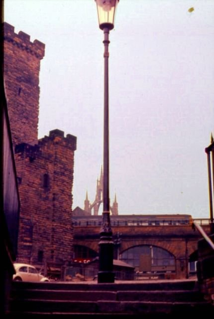 The New Castle and Cathedral Newcastle upon Tyne