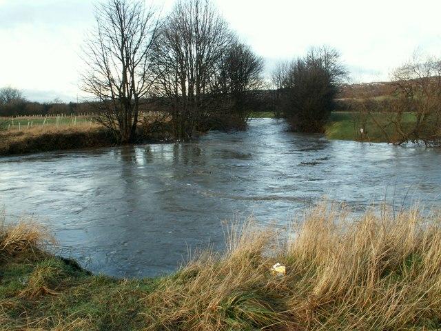 The River Dearne below Barugh Bridge