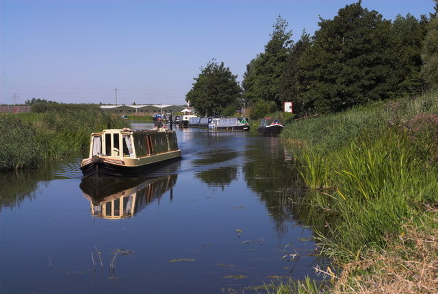 River Nene (old course) March, Cambridgeshire