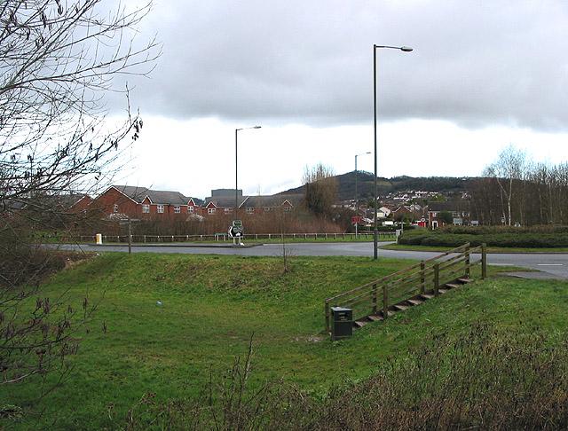 Western edge of Ledbury