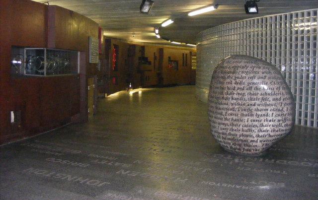 Cursing Stone Millennium Bridge Subway