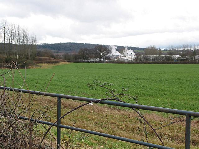 Farmland near the jam factory