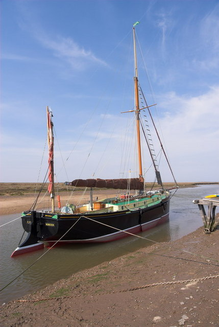 Blakeney Harbour Boat