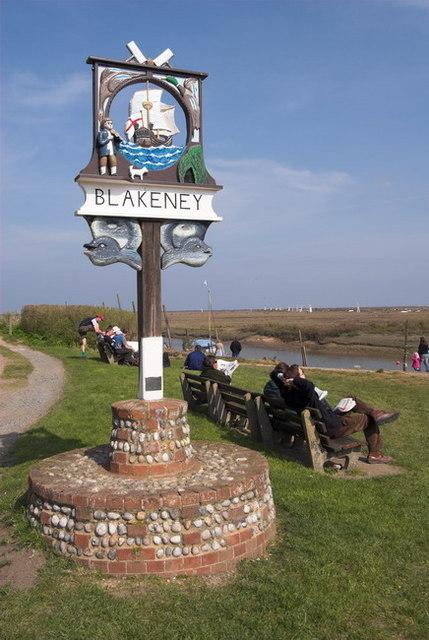 Blakeney Village Sign