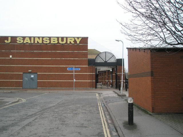 Sainsburys at Commercial Road