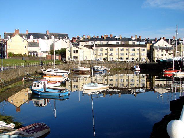 The Gap Harbour Aberystwyth