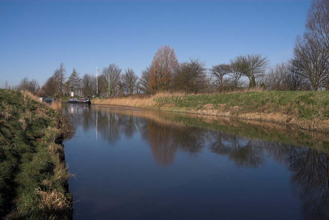 River Nene (old course) March, Cambridgeshire