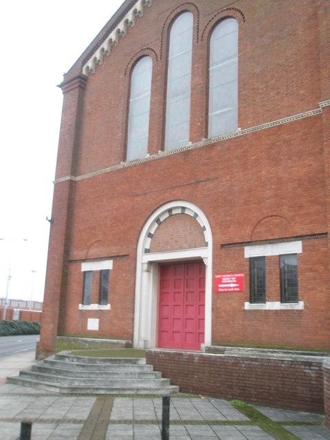 Entrance to St Agatha's