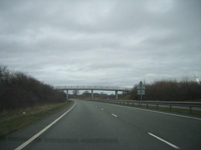 Bridge over the A5, Shrewsbury By-Pass